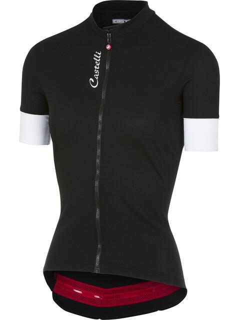 Castelli Anima 2 Kortärmad cykeltröja Dam svart